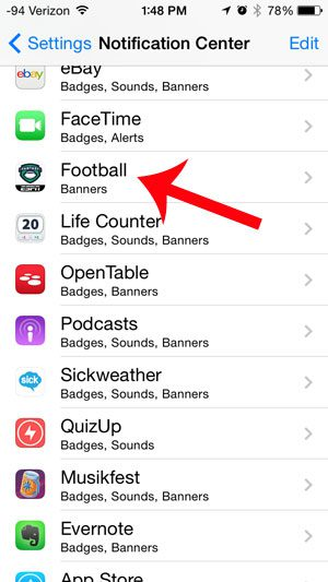 How to Disable Notifications for the ESPN Fantasy Football App