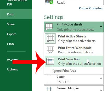 How to Print Part of a Worksheet in Excel 2013 - Solve Your Tech