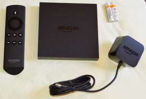 contents of amazon fire tv box