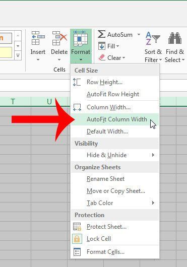 How to AutoFit All Columns in Excel 2013 - Solve Your Tech