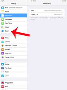 How to Show the Favorites Bar in Safari on the iPad 2