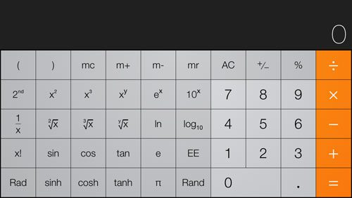 How to program a simple calculator in iphone using swift @swift.