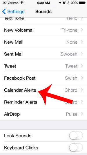 How to Change the Calendar Notification Sound on an iPhone