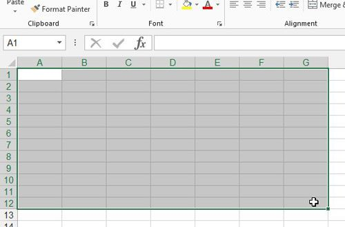 graphic relating to Blank Spreadsheet to Print named How in the direction of Print a Blank Spreadsheet within Excel 2013 - Resolve Your Tech