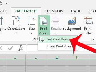 photograph regarding Blank Spreadsheet to Print called How towards Print a Blank Spreadsheet inside of Excel 2013 - Resolve Your Tech