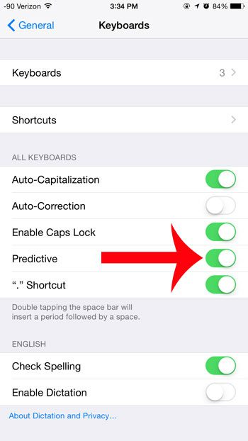 How to Turn On Predictive Text on an iPhone - Solve Your Tech