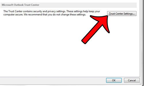 how to change attachment settings in outlook 2013