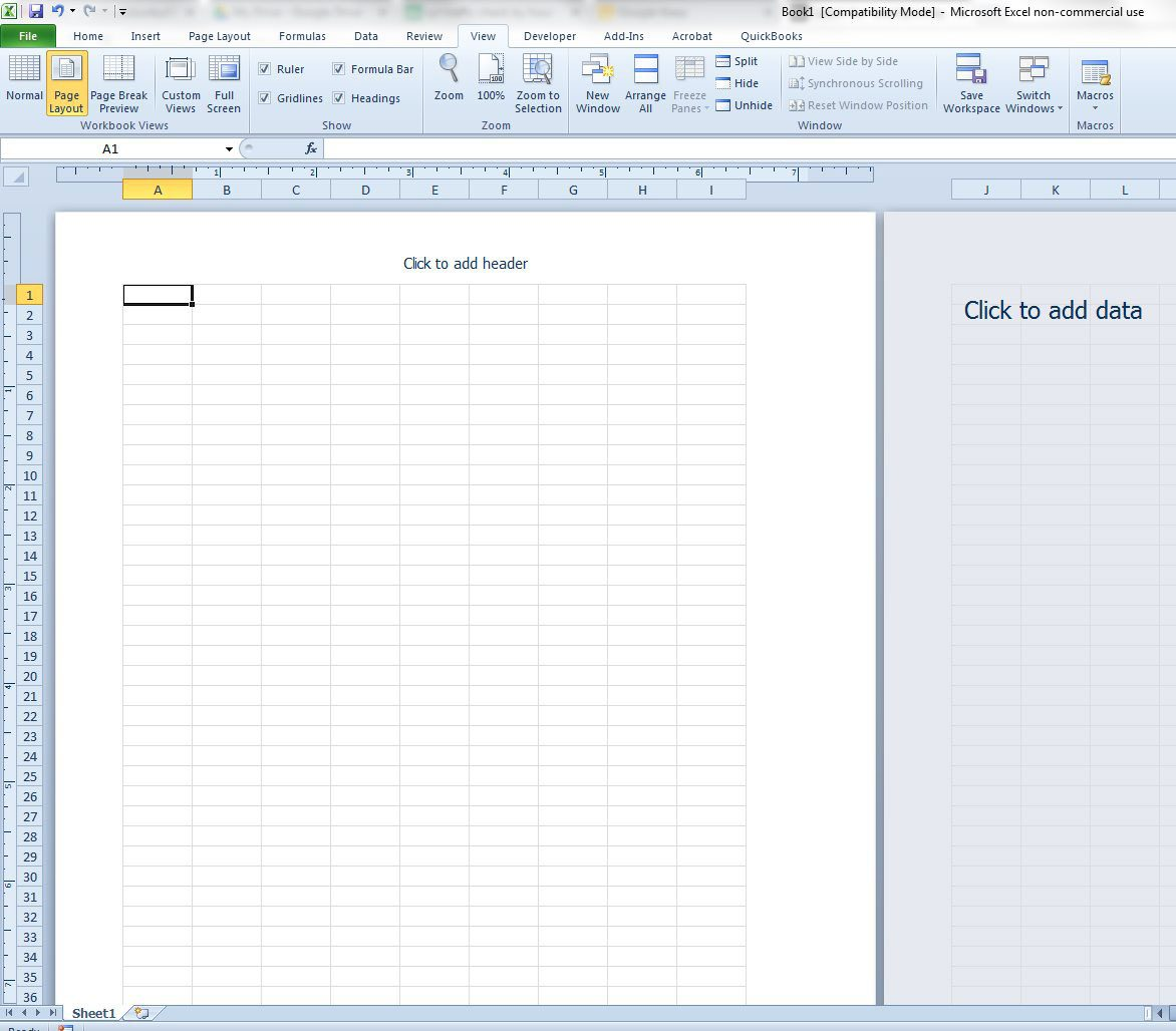 How to Switch to Page Layout View in Excel 20   Solve Your Tech