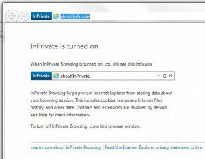 How to Do Private Browsing in Internet Explorer 11