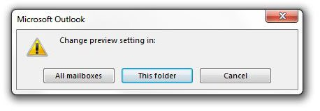 select the folders to apply it to