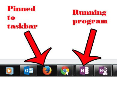 pinned programs versus open programs