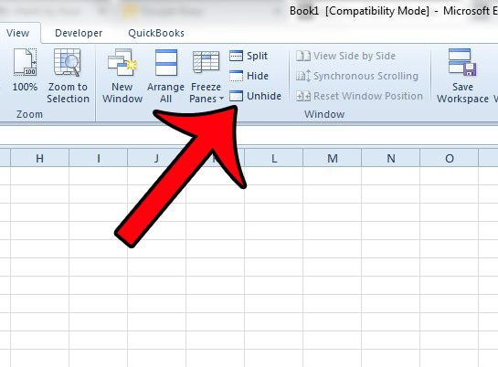 How to Unhide a Hidden Workbook in Excel 2010 - Solve Your Tech