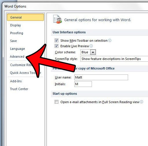 how to delete recent documents in word 2010