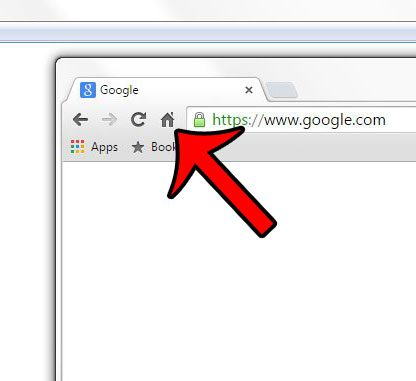 How to Hide the Home Icon in the Toolbar in Google Chrome
