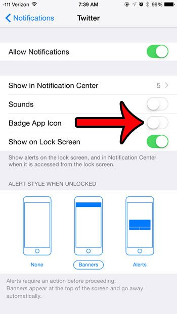 How to Turn Off the Twitter Badge Notification on an iPhone - Solve