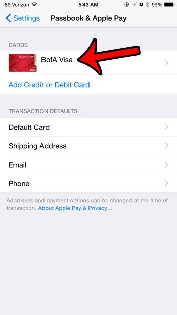 how to delete a card from apple pay on an iphone solve your tech