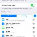 view battery usage details