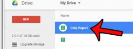 open the google sheet to download