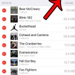 how to delete all music from iphone in ios 9