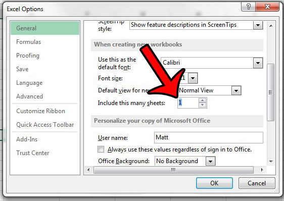 How to Only Have One Worksheet by Default in Excel 2013 - Solve Your ...