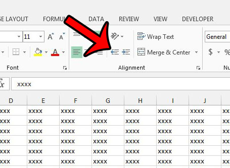 How to Remove Cell Indentation in Excel 2013 - Solve Your Tech
