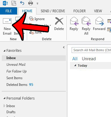 create a new email