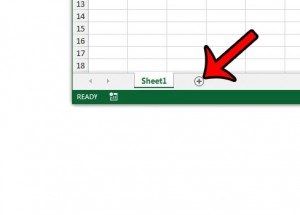 how to create a new worksheet in excel 2013