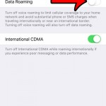 turn off data roaming in ios 9