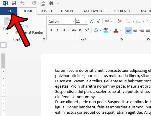 how to add document properties in word 2013