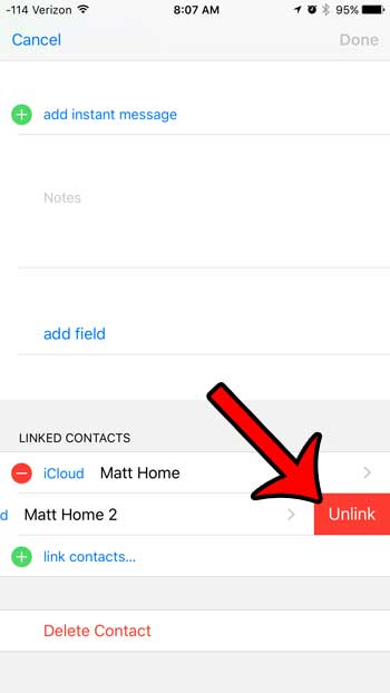 How to Unmerge Contacts on an iPhone 6 - Solve Your Tech