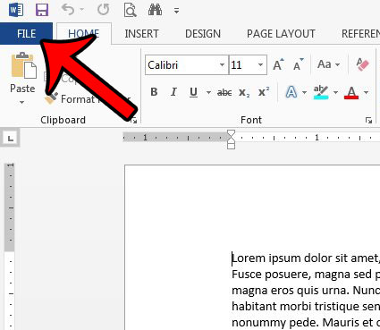 how to remove a password in word 2013