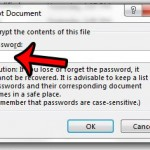 how to remove a document password in word 2013