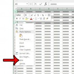 hide multiple rows in excel 2013