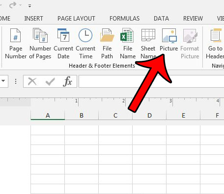 How to Insert a Picture in the Footer in Excel 2013 - Solve