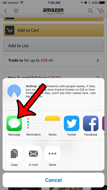 How to Share a Link from the Amazon iPhone App - Solve Your Tech