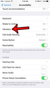 How to Turn Off All Vibration on an iPhone 6