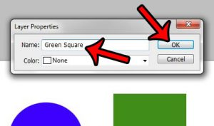 How to Rename a Layer in Photoshop CS5