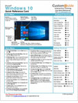 Free Reference Card for Windows 10