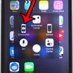 how to take a screenshot on the iphone without the power button