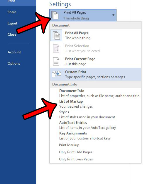 How to Print Only the Comments in Word 2013 - Solve Your Tech