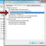 turn off automatic superscript powerpoint 2013