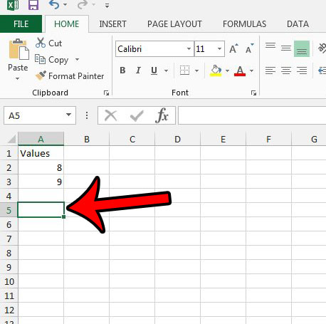 multiplication formula in excel 2013