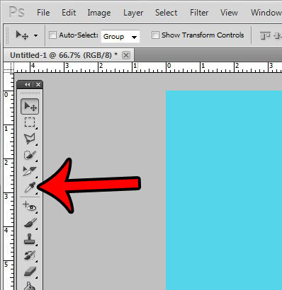 get html from Photoshop with the eyedropper