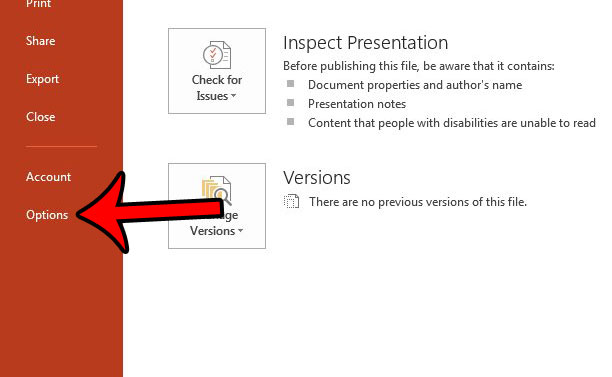 hide the powerpoint full screen popup toolbar - step 2
