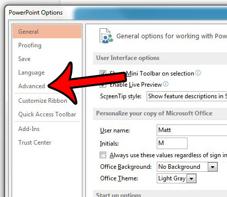powerpoint 2013 popup toolbar - step 3