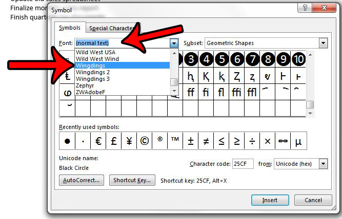How to Insert a Check Mark in Word 2013 - Solve Your Tech