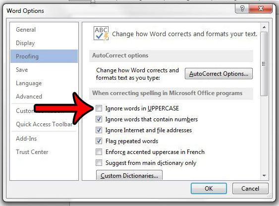 how to change spell check language in word 2016