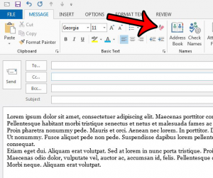 How to Remove Formatting from an Email in Outlook