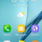 what is easy mode on the samsung galaxy on5
