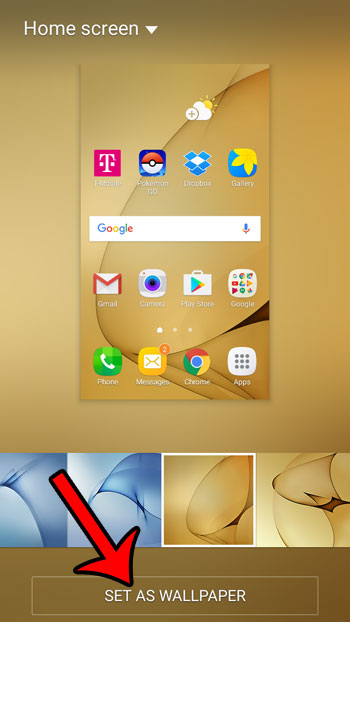 How To Change The Home Screen Background On A Samsung Galaxy On5
